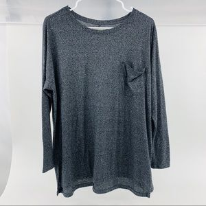 Abercrombie & Fitch Long Sleeve Scoop Neck Tee